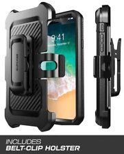 SUPCASE iPhone X Case Full-body Rugged Holster Unicorn Beetle Pro Series Black