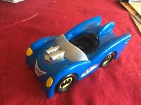 FISHER PRICE 2011 DC COMICS BATMAN CAR WITH SOUND FULLY WORKING VGCC