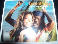 Beenie Man Feat Janet Jackson Feel It Boy Australian CD Single – Like New