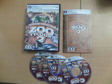 Zoo Tycoon 2 Ultimate Collection + Manual & Box All 4 Expansion Packs PCCD
