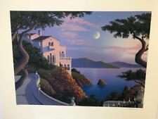 "Jim Buckels "" El Camino Monterey "" Hand Signed Limited Edition Serigraph"