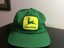 Vintage John Deere Trucker Cap Hat snap back
