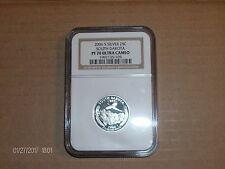 """2006 S Silver Quarter South Dakota Ngc Pf70 Ultra Cameo State Quarter """"Perfect"""""""