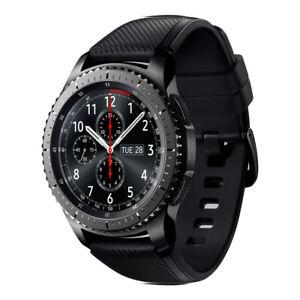 Samsung Galaxy Gear S3 Frontier SM-R760 Black (Bluetooth) - Very Good Condition