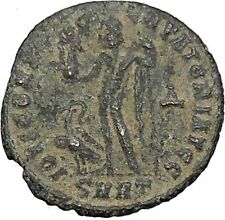 Licinius I Constantine The Great enemy 313AD Ancient Roman Coin Jupiter  i47030