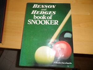 Benson And Hedges Book of Snooker (Published 1985)