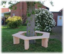 Krongartmöbel.Baum Bank 360° Rundbank.Parkbank aus Lärchenholz.Gartenbank.