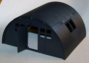 HO - O - S Scale Quonset Hut * Military * Farm * American Flyer * Plasticville