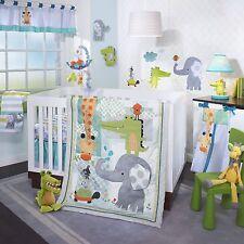 Lambs & Ivy Yoo-Hoo 6 Piece Baby Nursery Crib Bedding Set w/ Bumper & Mobile NEW