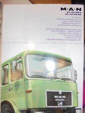 Prospekt Sales Brochure MAN M.A.N 26.281 DFS DFAS Frontlenker LKW Truck Technik