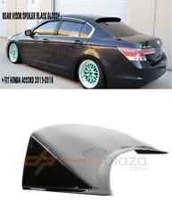Honda Accord Rear Window Spoiler Visor Spoiler Accord 2013-2016 Black Glossy PP