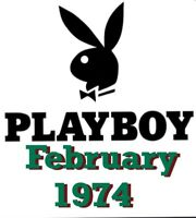 1974 February🐇Playboy Magazine, VERY GOOD Condition, Clint Eastwood Interview