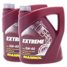 8 Liter MANNOL Extreme 5W-40 5W40 MB 229.3 226.5 RENAULT RN0700 0710 VW 502.00