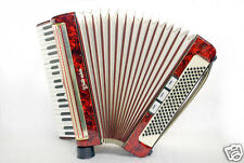 WELTMEISTER GERMAN PIANO ACCORDION 120 BASS BUTTON EXCELLENT ACORDEON ACCORDEON