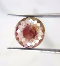 Rare Big 1.36TCW Gray Red Round Rose cut African Loose Natural Diamond For Jewel