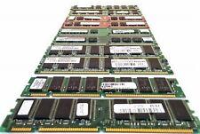 LOTTO 10 RAM DIMM DDR2 SDRAM 512-256 MB COMPUTER RETRO-COMPUTER RETROPC MEMORIE