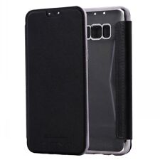 Flip Leather Wallet Clear Soft TPU Case Chrome Bumper Cover For Various Phone