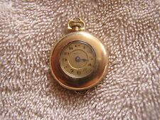 Antique Record W. Co 15  Jewels Pocket Watch Ladies Women's