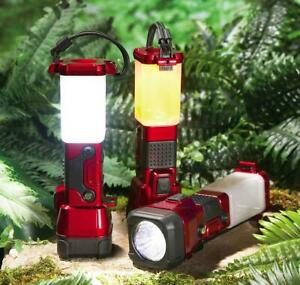 Handy 3 Way LED Flashlight or Lantern (Great for Camping, RV or Home Use)