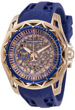 TechnoMarine Men's Technocell TM-318020 47mm Rose Gold Dial Silicone Watch