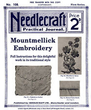Needlecraft Practical Journal #108 c.1913 - Mountmellick Embroidery Instructions