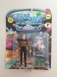 STAR TREK Next Generation 3 figure lot Captain Dathon Captain Scott Lt Barclay