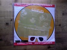 Beatles The British Are Coming NM 3D PICTURE DISC Vinyl Record PD83010 & Glasses