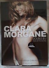 Livre Neuf Clara Morgane - Double Jeu avec DVD