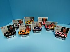 LOT (8) RACING CHAMPIONS DIECAST 1:64 SCALE CAR, STAND & COLLECTOR CARDS 1992-95
