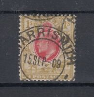 Orange River Colony KEVII 1905 1/- Scarlet Bistre SG151 VFU J9465