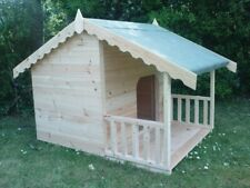 LUXURY SUMMER HOUSE STYLE DOG KENNEL