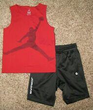 Air Jordan Boys Shirt Shorts Boy's Size 6