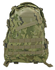 3D Assault Tactical Molle Backpack Camping Hiking Hunting Military Bag Pack Camo