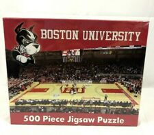 Boston University 500 Piece Jigsaw Puzzle BU Basketball New