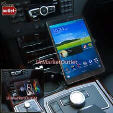 """Car Mount Holder+USB Charger+Cigarette Outlet Fit Samsung Galaxy Tab S 8.4"""" T700"""