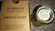 Himalayan Candles Fleur de Lys Soy Candle Tumbler, Ginger Patchouli, 8-Ounce