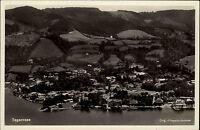 Tegernsee Bayern Oberbayern ~1940 Luftbild Fliegeraufnahme Panorama Landschaft