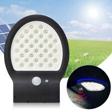 EE_ FA- LED Solar Power Motion Sensor Garden Street Light Wall Lamp Waterproof