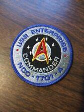 NCC-1701-A USS Enterprise Commander Small Patch