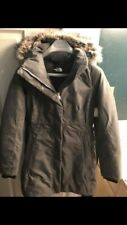 new, never worn (tag attached) women's winter coat, grey, North Face, size M