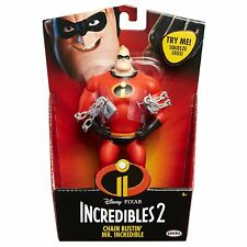 Disney Pixar Incredibles 2 - Chain Bustin' Mr Incredible 6 Inch Feature Figure