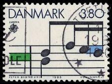 "DENMARK 774 (Mi836) - Europa Music ""Musical Staff"" (pf74677)"