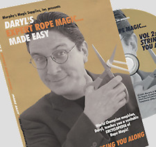 Expert Rope Magic Made Easy by Daryl- #2 ships from Murphy's Magic