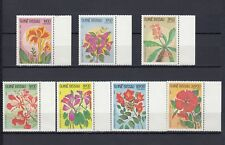 TIMBRE STAMP 7 GUINEE BISSAU Y&T#217-23 FLEUR FLOWER NEUF**/MNH-MINT 1983 ~B81
