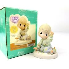 Precious Moments Love From The First Impression Boy Enesco Figurine 115898 New
