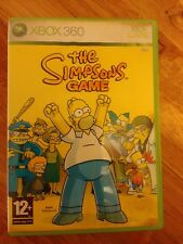 The Simpsons Game  *No Manual* Microsoft Xbox 360
