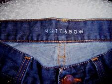 "blue jeans by Mott & Bow 31"" x 32"""