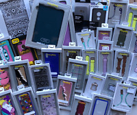 Wholesale Lot (25) Cell Phone Cases & Accessories, Brand Name! - Apple, Samsung+