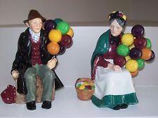"Pair of Royal Doulton 'Old Balloon Sellers"""