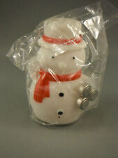 Flashing Frosty Snowman - with Batteries